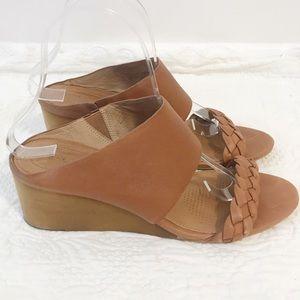 Corso como junip wedge sandal braided strap size 9